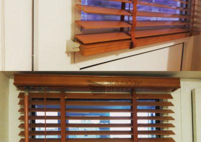 Горизонтальные (Деревянные и бамбуковые) 25-50мм 2