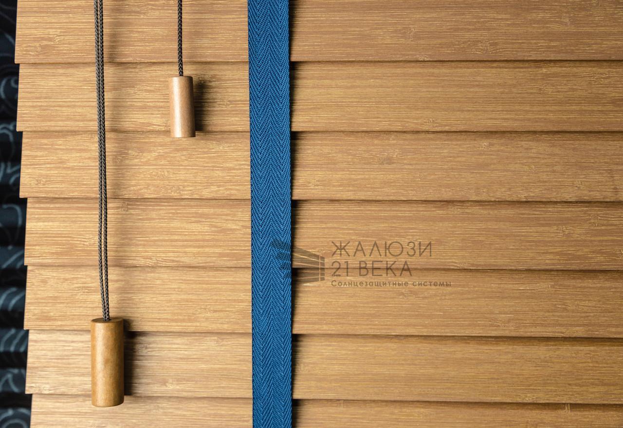 Горизонтальные (деревянные и бамбуковые) 25/50 мм