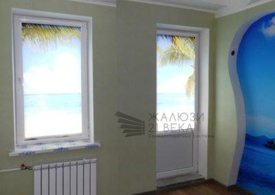 Рулонные шторы с фотопечатью1