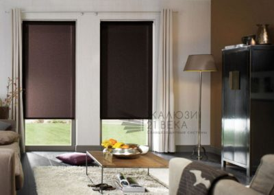 Рулонные шторы Blackout (100% затемнение) Mini и Uni2